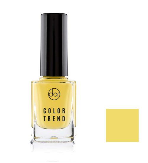 lakier color trend soczysty żółty
