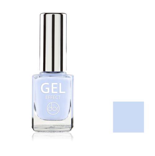 lakier gel effect błękitny