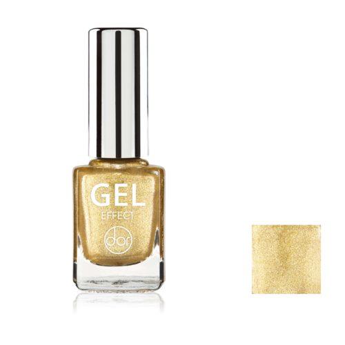 lakier gel effect złoty