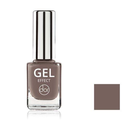 lakier gel effect brązowy