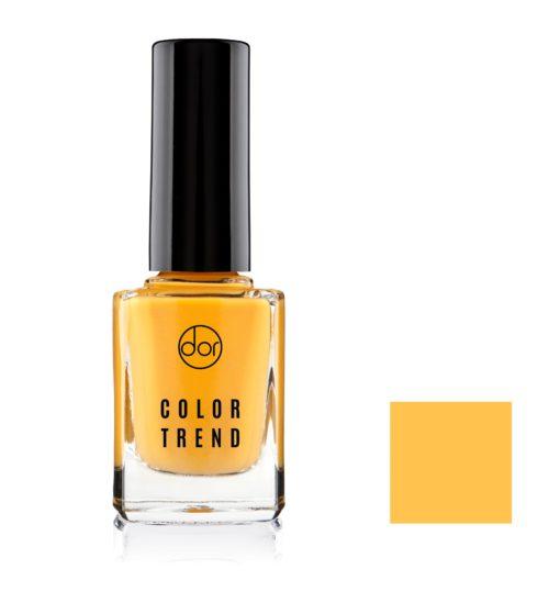 lakier color trend soczysty żółtu