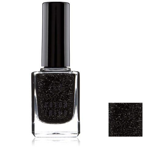 lakier color trend czarny brokat