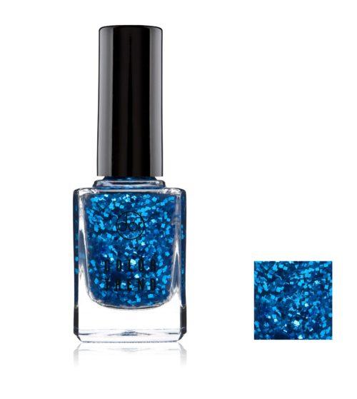 lakier color trend niebieskie drobinki