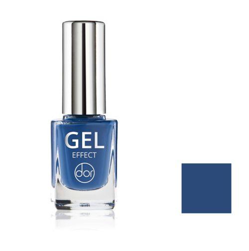 lakier gel effect niebieski