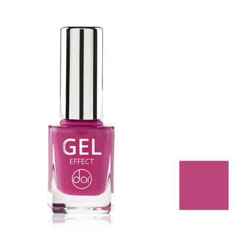 lakier gel effect malinowy