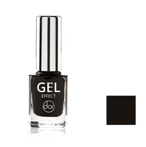 lakier gel effect czarny
