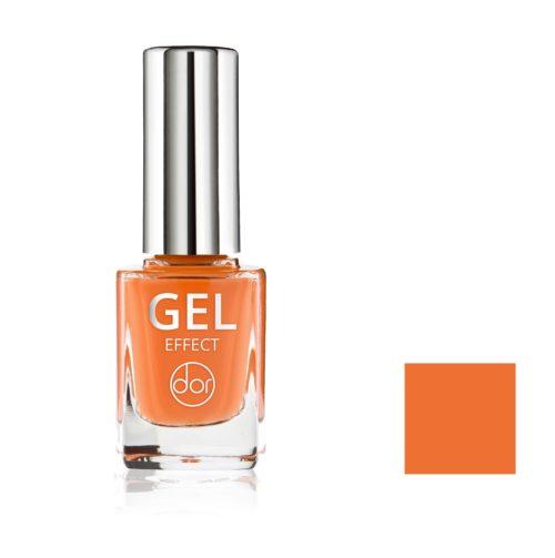 lakier gel effect pomarańczowy
