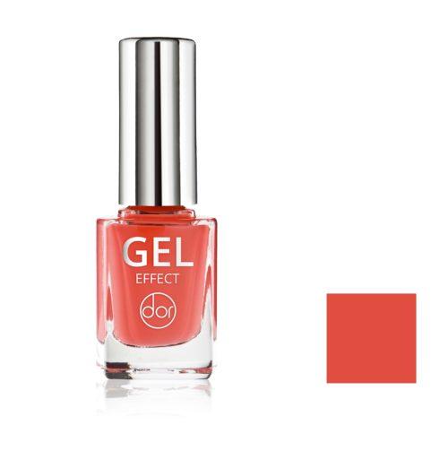 lakier gel effect czerwony