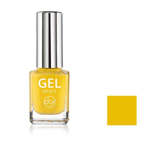 lakier gel effect żółty