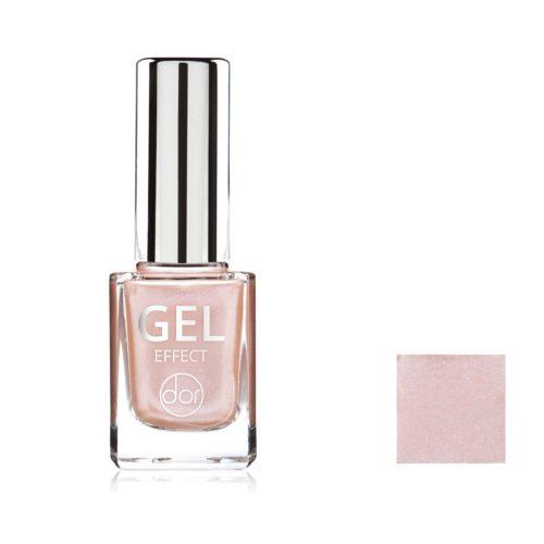lakier gel effect różowy opalizujący