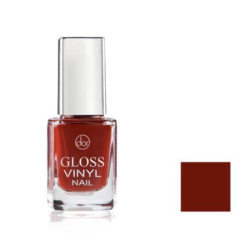 lakier gloss vinyl ciemnoczerwony z brązem
