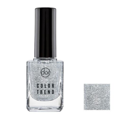 lakier color trend srebrny drobinki