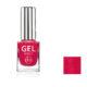 lakier gel effect czerwony metaliczny