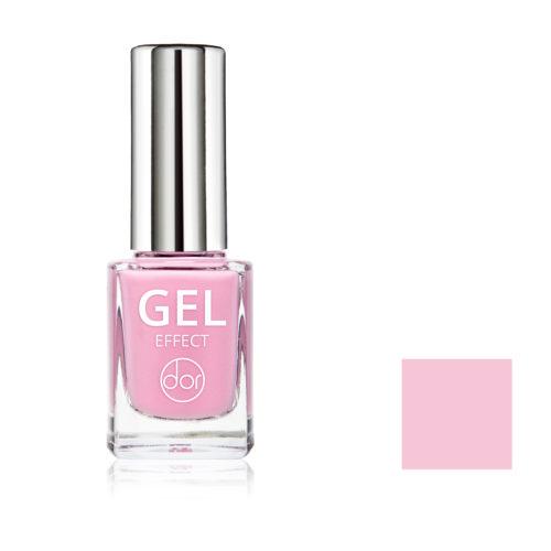 lakier gel effect różowy
