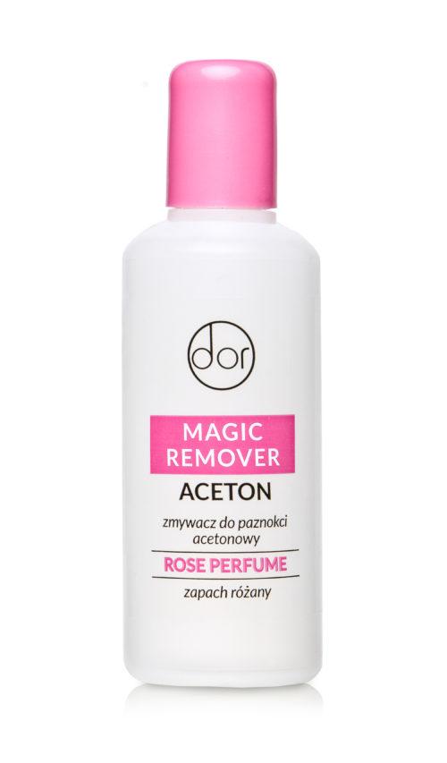 zmywacz do paznokci acetonowy rose perfume